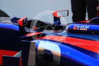 World © Octane Photographic Ltd. Scuderia Toro Rosso STR12 launch, Circuit de Barcelona-Catalunya. Sunday 26th February 2017. Digital Ref :1777LB1D7800