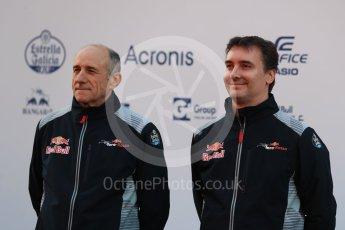 World © Octane Photographic Ltd. Scuderia Toro Rosso STR12 launch, Circuit de Barcelona-Catalunya. Sunday 26th February 2017. Digital Ref :1777LB1D7991