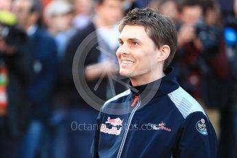World © Octane Photographic Ltd. Scuderia Toro Rosso STR12 launch, Circuit de Barcelona-Catalunya. Sunday 26th February 2017. Digital Ref :1777LB1D8054
