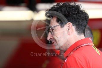 World © Octane Photographic Ltd. Formula 1 – Italian GP -Practice 3. Maurizio Arrivabene – Managing Director and Team Principal of Scuderia Ferrari. Autodromo Nazionale di Monza, Monza, Italy. Saturday 1st September 2018.