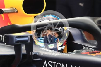 World © Octane Photographic Ltd. Formula 1 – Italian GP -Practice 3. Aston Martin Red Bull Racing TAG Heuer RB14 – Daniel Ricciardo. Autodromo Nazionale di Monza, Monza, Italy. Saturday 1st September 2018.