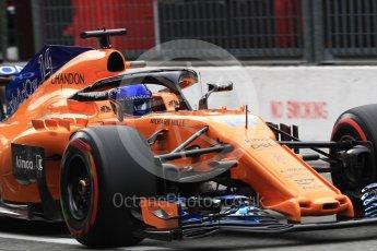 World © Octane Photographic Ltd. Formula 1 – Italian GP -Practice 3. McLaren MCL33 – Fernando Alonso. Autodromo Nazionale di Monza, Monza, Italy. Saturday 1st September 2018.
