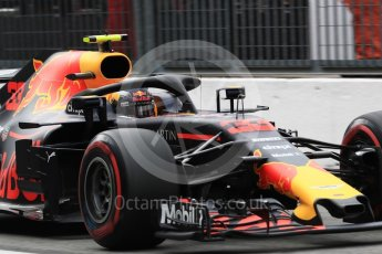 World © Octane Photographic Ltd. Formula 1 – Italian GP -Practice 3. Aston Martin Red Bull Racing TAG Heuer RB14 – Max Verstappen. Autodromo Nazionale di Monza, Monza, Italy. Saturday 1st September 2018.
