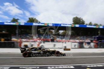 World © Octane Photographic Ltd. Formula 1 – Italian GP -Practice 3. Renault Sport F1 Team RS18 – Nico Hulkenberg. Autodromo Nazionale di Monza, Monza, Italy. Saturday 1st September 2018.