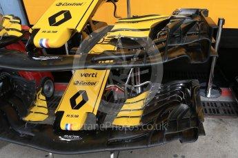 World © Octane Photographic Ltd. Formula 1 – Italian GP -Practice 3. Renault Sport F1 Team RS18. Autodromo Nazionale di Monza, Monza, Italy. Saturday 1st September 2018.