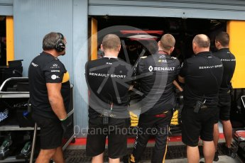 World © Octane Photographic Ltd. Formula 1 - Italian GP - Practice 3. Renault Sport Formula 1 Team. Autodromo Nazionale di Monza, Monza, Italy. Saturday 1st September 2018.