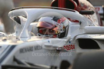 World © Octane Photographic Ltd. Formula 1 –  Abu Dhabi GP - Grid. Alfa Romeo Sauber F1 Team C37 – Charles Leclerc. Yas Marina Circuit, Abu Dhabi. Sunday 25th November 2018.