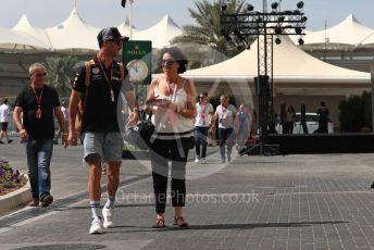 World © Octane Photographic Ltd. Formula 1 –  Abu Dhabi GP - Paddock. Aston Martin Red Bull Racing TAG Heuer RB14 – Daniel Ricciardo. Yas Marina Circuit, Abu Dhabi. Saturday 24th November 2018.