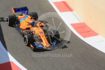 World © Octane Photographic Ltd. Formula 1 –  Abu Dhabi GP - Practice 1. McLaren MCL33 – Fernando Alonso. Yas Marina Circuit, Abu Dhabi. Friday 23rd November 2018.