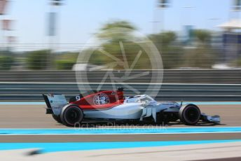 World © Octane Photographic Ltd. Formula 1 – Abu Dhabi GP - Practice 1. Alfa Romeo Sauber F1 Team C37 – Marcus Ericsson. Yas Marina Circuit, Abu Dhabi. Friday 23rd November 2018.