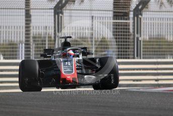 World © Octane Photographic Ltd. Formula 1 – Abu Dhabi GP - Practice 1. Haas F1 Team VF-18 – Romain Grosjean. Yas Marina Circuit, Abu Dhabi. Friday 23rd November 2018.