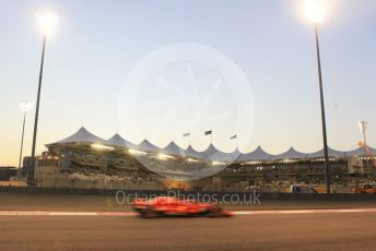 World © Octane Photographic Ltd. Formula 1 –  Abu Dhabi GP - Practice 2. Scuderia Ferrari SF71-H – Sebastian Vettel. Yas Marina Circuit, Abu Dhabi. Friday 23rd November 2018.