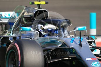 World © Octane Photographic Ltd. Formula 1 –  Abu Dhabi GP - Practice 3. Mercedes AMG Petronas Motorsport AMG F1 W09 EQ Power+ - Valtteri Bottas. Yas Marina Circuit, Abu Dhabi. Saturday 24th November 2018.