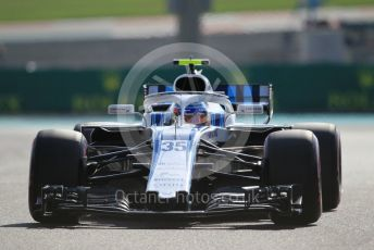 World © Octane Photographic Ltd. Formula 1 – Abu Dhabi GP - Practice 3. Williams Martini Racing FW41 – Sergey Sirotkin. Yas Marina Circuit, Abu Dhabi. Saturday 24th November 2018.