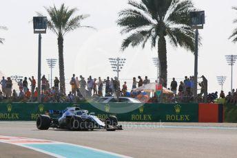 World © Octane Photographic Ltd. Formula 1 – Abu Dhabi GP - Practice 3. Williams Martini Racing FW41 – Lance Stroll. Yas Marina Circuit, Abu Dhabi. Saturday 24th November 2018.