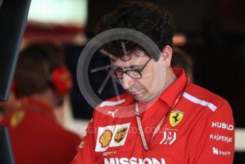 World © Octane Photographic Ltd. Formula 1 - Abu Dhabi GP - Practice 3. Mattia Binotto – Chief Technical Officer - Scuderia Ferrari. Yas Marina Circuit, Abu Dhabi. Saturday 24th November 2018.