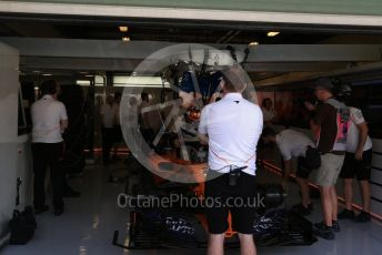 World © Octane Photographic Ltd. Formula 1 –  Abu Dhabi GP - Practice 3. McLaren MCL33 – Stoffel Vandoorne. Yas Marina Circuit, Abu Dhabi. Saturday 24th November 2018.