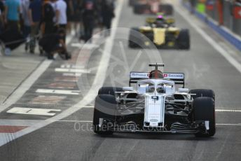 World © Octane Photographic Ltd. Formula 1 –  Abu Dhabi GP - Race. Alfa Romeo Sauber F1 Team C37 – Marcus Ericsson. Yas Marina Circuit, Abu Dhabi. Sunday 25th November 2018.