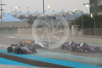 World © Octane Photographic Ltd. Formula 1 –  Abu Dhabi GP - Race. Haas F1 Team VF-18 – Kevin Magnussen. Yas Marina Circuit, Abu Dhabi. Sunday 25th November 2018.