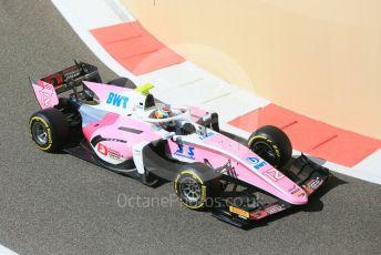 World © Octane Photographic Ltd. FIA Formula 2 (F2) – Abu Dhabi GP - Practice. BWT Arden - Nirei Fukuzumi. Yas Marina Circuit, Abu Dhabi. Friday 23rd November 2018.