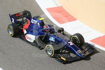 World © Octane Photographic Ltd. FIA Formula 2 (F2) – Abu Dhabi GP - Practice. Russian Time - Tadasuke Makino. Yas Marina Circuit, Abu Dhabi. Friday 23rd November 2018.