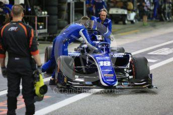 World © Octane Photographic Ltd. FIA Formula 2 (F2) – Abu Dhabi GP - Race 1. Carlin - Sergio Sette Camara. Yas Marina Circuit, Abu Dhabi. Saturday 24th November 2018.
