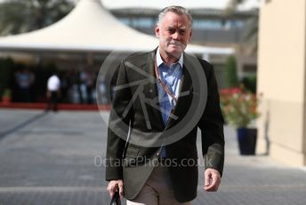 World © Octane Photographic Ltd. Formula 1 - Abu Dhabi GP - Paddock. Sean Bratches - Managing Director, Commercial Operations of Liberty Media. Yas Marina Circuit, Abu Dhabi. Friday 23rd November 2018.
