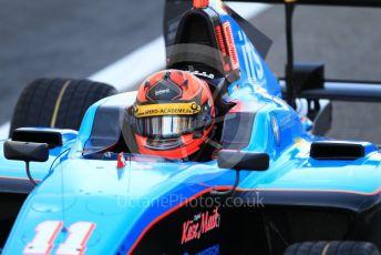 World © Octane Photographic Ltd. GP3 – Abu Dhabi GP – Practice. Jenzer Motorsport – Jannes Fittje. Yas Marina Circuit, Abu Dhabi. Friday 23rd November 2018.