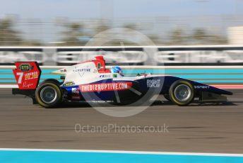 World © Octane Photographic Ltd. GP3 – Abu Dhabi GP – Qualifying. Trident - Ryan Tveter. Yas Marina Circuit, Abu Dhabi. Friday 23rd November 2018.