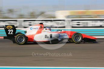 World © Octane Photographic Ltd. GP3 – Abu Dhabi GP – Qualifying. MP Motorsport - Richard Verschoor. Yas Marina Circuit, Abu Dhabi. Friday 23rd November 2018.