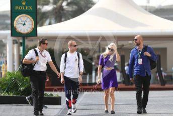 World © Octane Photographic Ltd. Formula 1 – Abu Dhabi GP - Paddock. Mercedes AMG Petronas Motorsport AMG F1 W09 EQ Power+ - Valtteri Bottas. Yas Marina Circuit, Abu Dhabi. Sunday 25th November 2018.