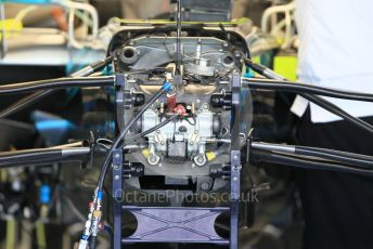 World © Octane Photographic Ltd. Formula 1 –  Abu Dhabi GP - Paddock. Mercedes AMG Petronas Motorsport AMG F1 W09 EQ Power+. Yas Marina Circuit, Abu Dhabi. Thursday 22nd November 2018.