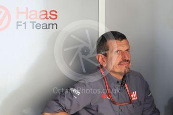 World © Octane Photographic Ltd. Formula 1 - Abu Dhabi GP - Paddock. Guenther Steiner  - Team Principal of Haas F1 Team. Yas Marina Circuit, Abu Dhabi. Thursday 22nd November 2018.