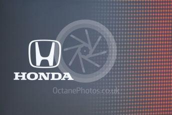 World © Octane Photographic Ltd. Formula 1 –  Abu Dhabi GP - Paddock. Honda Racing. Yas Marina Circuit, Abu Dhabi. Thursday 22nd November 2018.