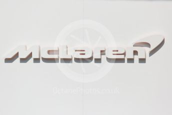 World © Octane Photographic Ltd. Formula 1 –  Abu Dhabi GP - Paddock. McLaren MCL33. Yas Marina Circuit, Abu Dhabi. Thursday 22nd November 2018.