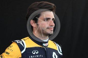 World © Octane Photographic Ltd. Formula 1 – Australian GP - Driver Photo Call. Renault Sport F1 Team RS18 – Carlos Sainz. Albert Park, Melbourne, Australia. Thursday 22ndMarch 2018.