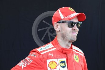 World © Octane Photographic Ltd. Formula 1 – Australian GP - Driver Photo Call. Scuderia Ferrari SF71-H – Sebastian Vettel. Albert Park, Melbourne, Australia. Thursday 22nd March 2018.