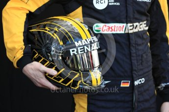 World © Octane Photographic Ltd. Formula 1 – Australian GP - Driver Photo Call. Renault Sport F1 Team RS18 – Nico Hulkenberg. Albert Park, Melbourne, Australia. Thursday 22nd March 2018.