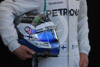 World © Octane Photographic Ltd. Formula 1 – Australian GP - Driver Photo Call. Mercedes AMG Petronas Motorsport AMG F1 W09 EQ Power+ - Valtteri Bottas. Albert Park, Melbourne, Australia. Thursday 22nd March 2018.