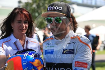 World © Octane Photographic Ltd. Formula 1 – Australian GP - Driver Photo Call. McLaren MCL33 – Fernando Alonso. Albert Park, Melbourne, Australia. Thursday 22nd March 2018.