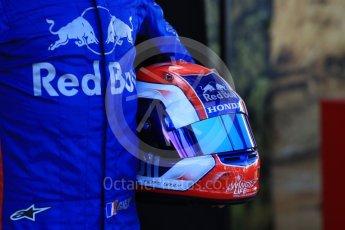 World © Octane Photographic Ltd. Formula 1 – Australian GP - Driver Photo Call. Scuderia Toro Rosso STR13 – Pierre Gasly. Albert Park, Melbourne, Australia. Thursday 22nd March 2018.