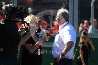 World © Octane Photographic Ltd. Formula 1 - Australian GP - Grid 3.Helmut Marko - advisor to the Red Bull GmbH Formula One Teams and head of Red Bull's driver development program. Albert Park, Melbourne, Australia. Sunday 25th March 2018.