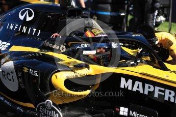World © Octane Photographic Ltd. Formula 1 – Australian GP - Grid. Renault Sport F1 Team RS18 – Nico Hulkenberg. Albert Park, Melbourne, Australia. Sunday 25th March 2018.