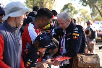 World © Octane Photographic Ltd. Formula 1 - Australian GP - Friday Melbourne Walk. Helmut Marko - advisor to the Red Bull GmbH Formula One Teams and head of Red Bull's driver development program. Albert Park, Melbourne, Australia. Friday 23rd March 2018.