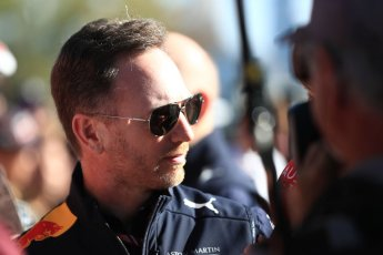 World © Octane Photographic Ltd. Formula 1 - Australian GP - Friday Melbourne Walk. Christian Horner - Team Principal of Red Bull Racing. Albert Park, Melbourne, Australia. Friday 23rd March 2018.