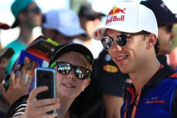World © Octane Photographic Ltd. Formula 1 – Australian GP - Friday Melbourne Walk. Scuderia Toro Rosso STR13 – Pierre Gasly. Albert Park, Melbourne, Australia. Friday 23rd March 2018.