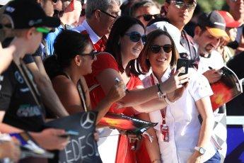 World © Octane Photographic Ltd. Formula 1 - Australian GP - Friday Melbourne Walk. Claire Williams - Deputy Team Principal of Williams Martini Racing. Albert Park, Melbourne, Australia. Friday 23rd March 2018.