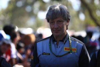 World © Octane Photographic Ltd. Formula 1 - Australian GP - Friday Melbourne Walk.Mario Isola – Pirelli Head of Car Racing. Albert Park, Melbourne, Australia. Friday 23rd March 2018.