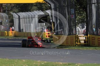 World © Octane Photographic Ltd. Formula 1 – Australian GP - Friday Practice 1. Scuderia Ferrari SF71-H – Kimi Raikkonen. Albert Park, Melbourne, Australia. Friday 23rd March 2018.