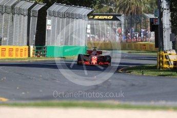 World © Octane Photographic Ltd. Formula 1 – Australian GP - Friday Practice 1. Scuderia Ferrari SF71-H – Sebastian Vettel. Albert Park, Melbourne, Australia. Friday 23rd March 2018.